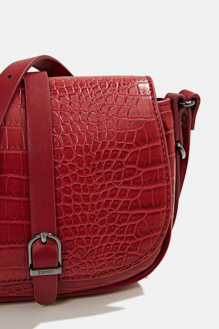 Susie T. shoulder bag, DARK RED, detail image number 3