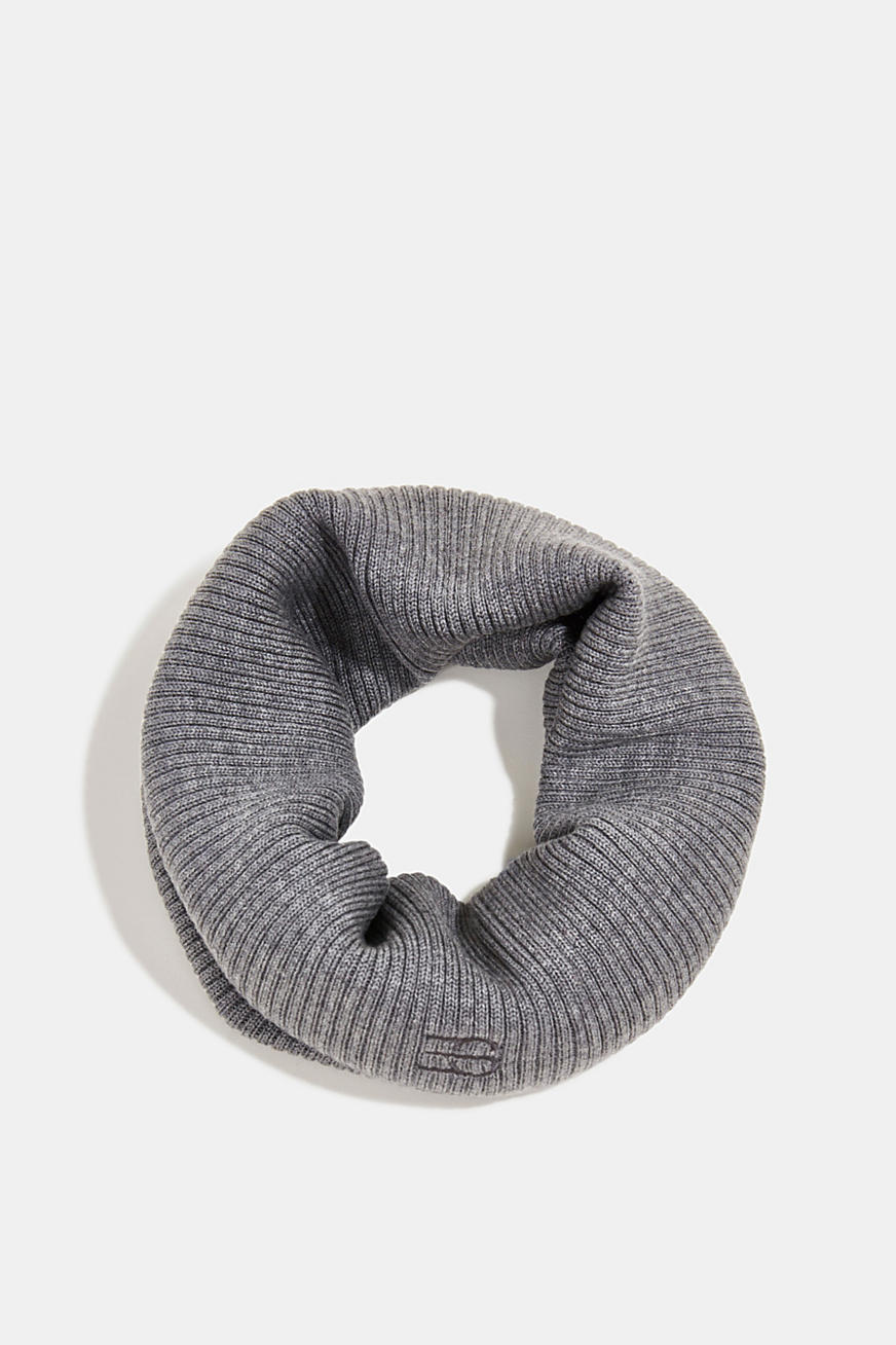 Snood made of 100% merino wool