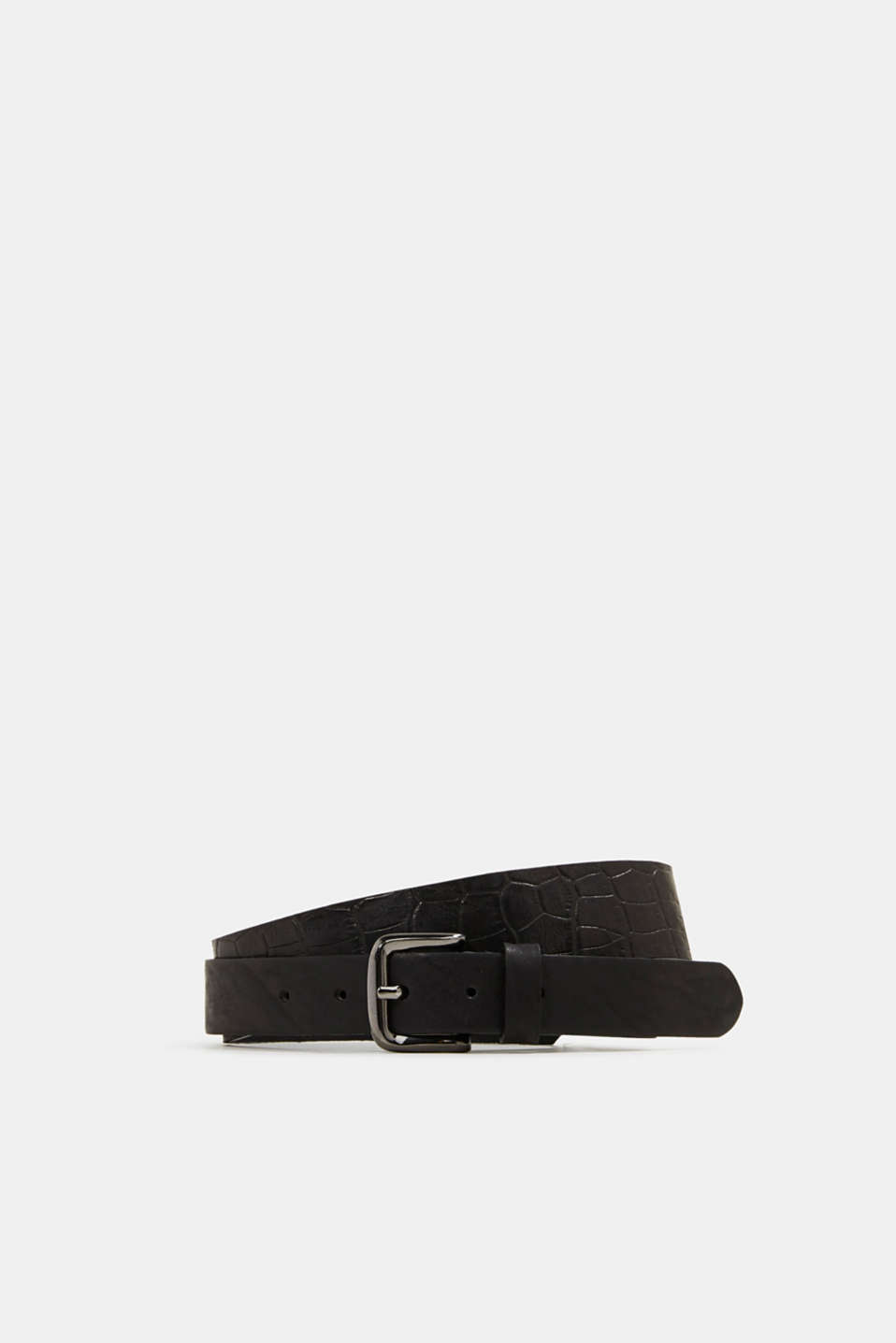 Esprit - Wide belt made of chromium-free tanned leather