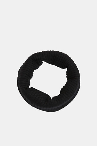 Shawl collar made of 100% merino wool