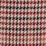 HOUNDSTOOTH Mix + Match trousers, BORDEAUX RED, swatch