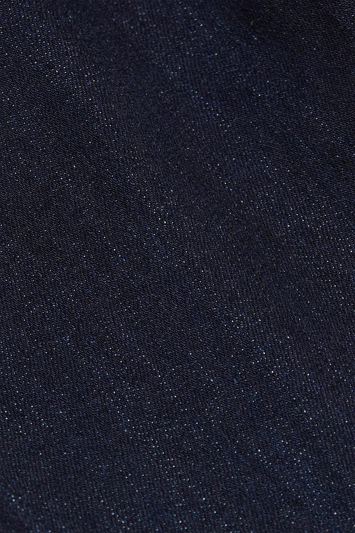 Bootcutjeans i ekologisk bomull, BLUE RINSE, detail image number 4