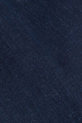 Bootcut jeans made of organic cotton, BLUE DARK WASH, detail