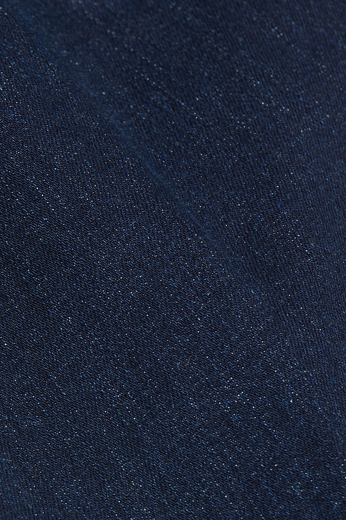 Bootcut jeans made of organic cotton, BLUE DARK WASHED, detail image number 4