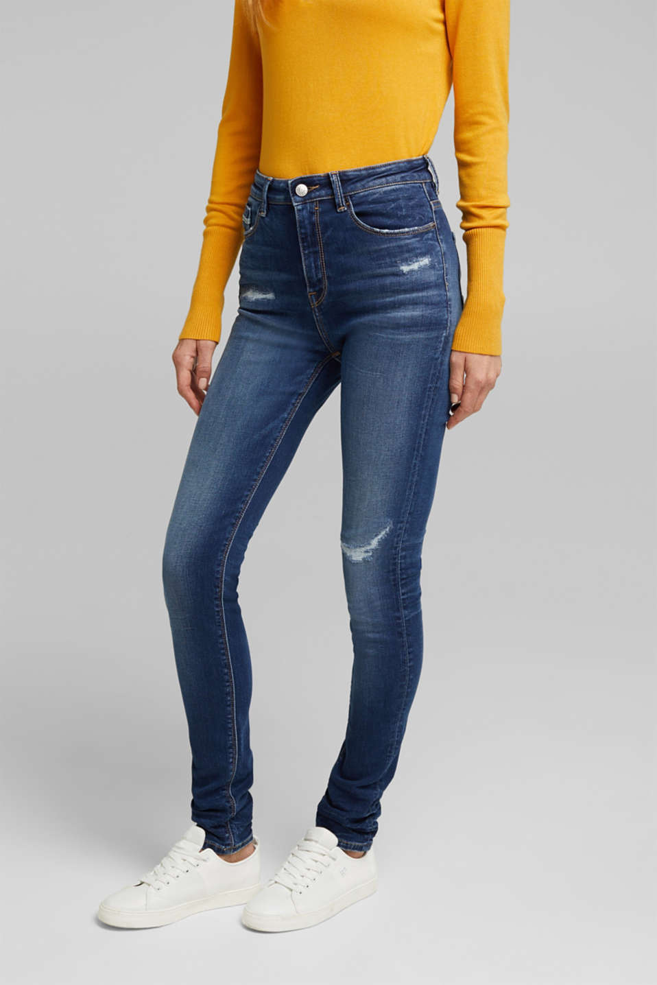 Esprit - Skinny jeans with added stretch for comfort