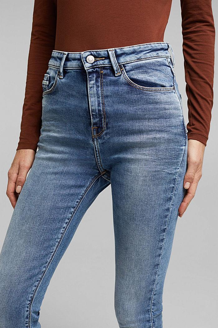 Skinny Jeans mit Stretchkomfort, BLUE LIGHT WASHED, detail image number 5