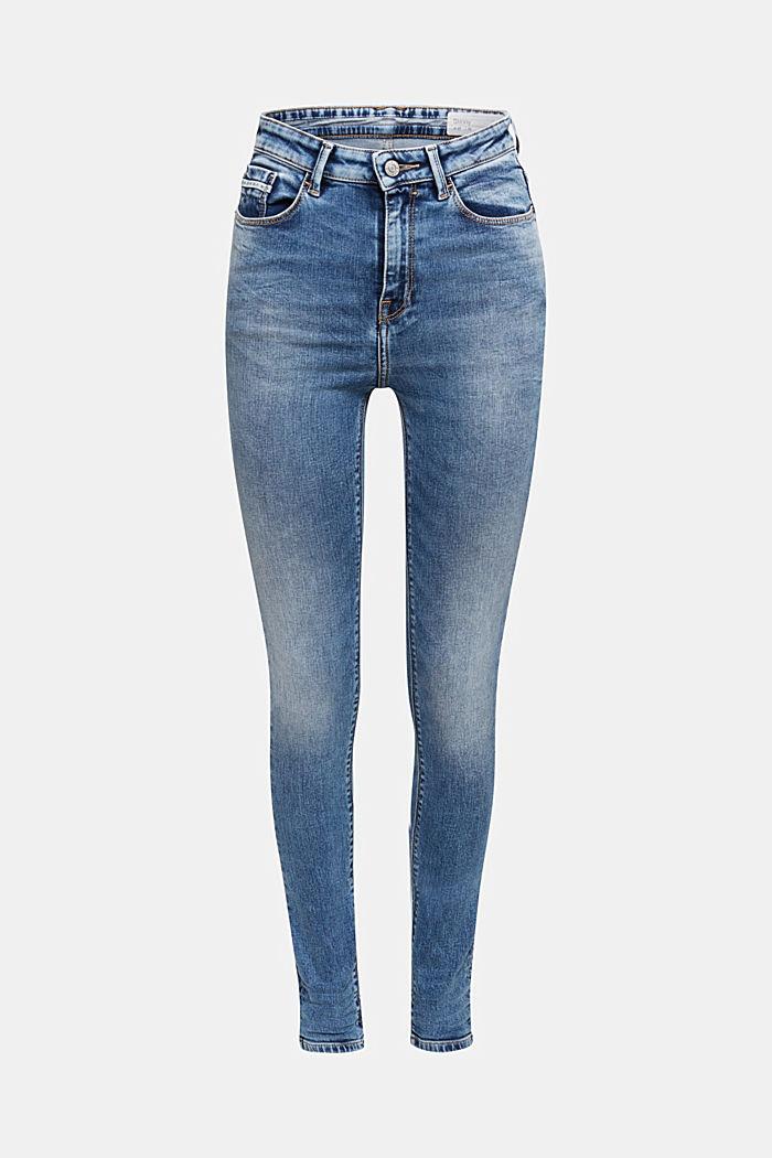 Skinny Jeans mit Stretchkomfort, BLUE LIGHT WASHED, detail image number 6