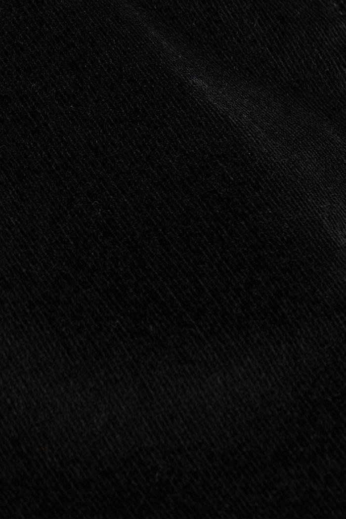 Corduroy mini skirt, BLACK, detail image number 4