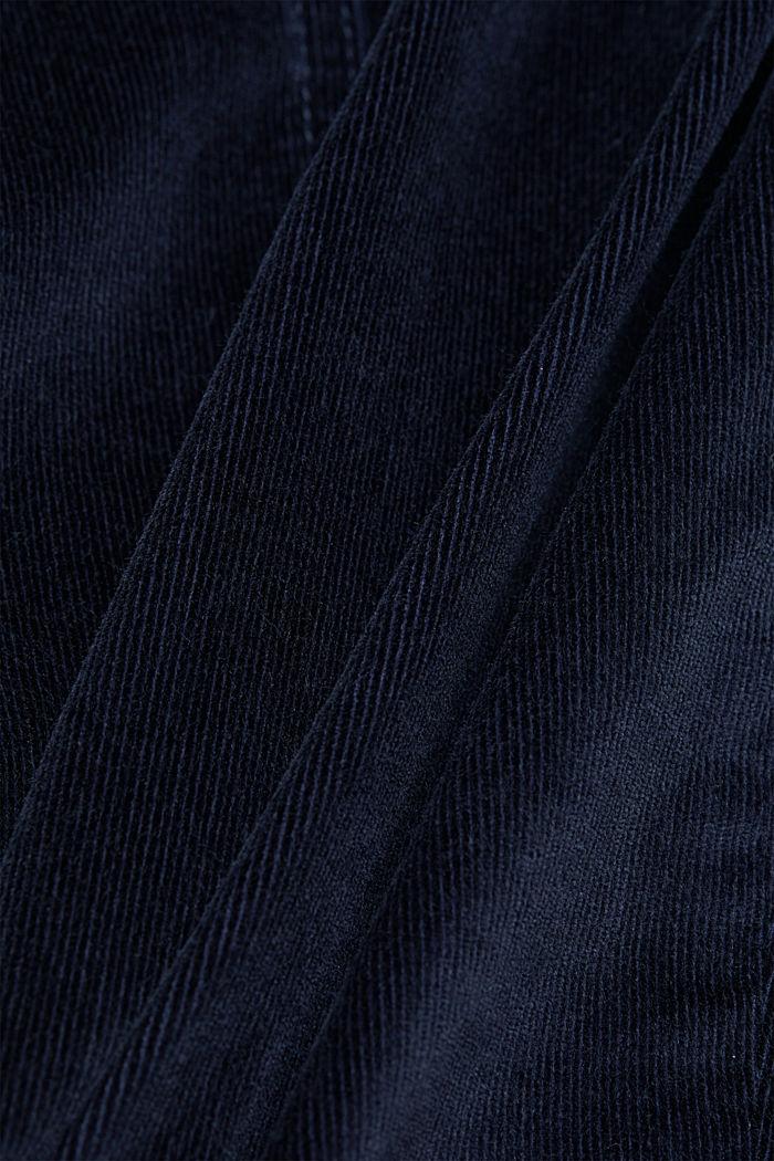 Corduroy mini skirt, NAVY, detail image number 4