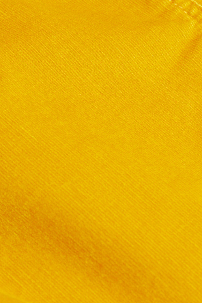 Corduroy mini skirt, BRASS YELLOW, detail image number 4