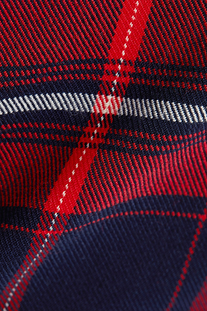 Pleated mini skirt, NAVY, detail image number 4