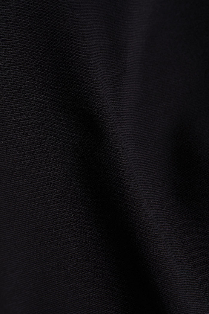 Jersey dress with TENCEL™ lyocell, BLACK, detail image number 3