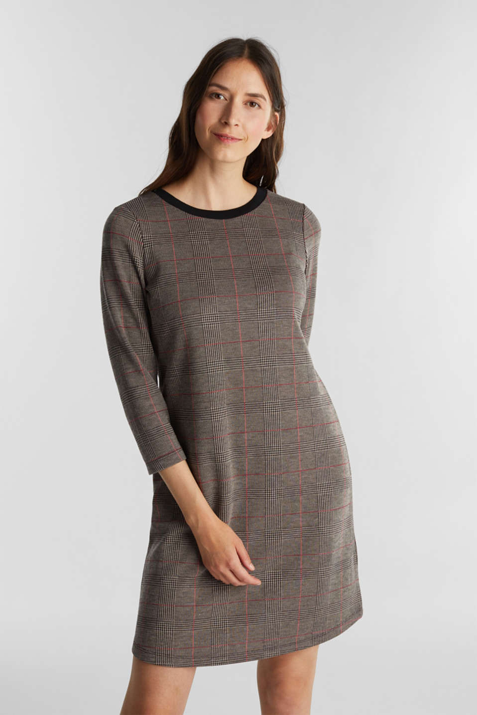 Esprit - Jersey dress with stretch for comfort