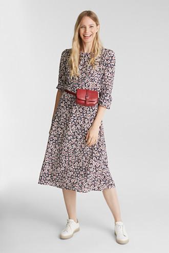 Midi dress made of 100% viscose