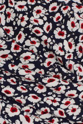 Midi dress made of 100% viscose, NAVY 4, detail