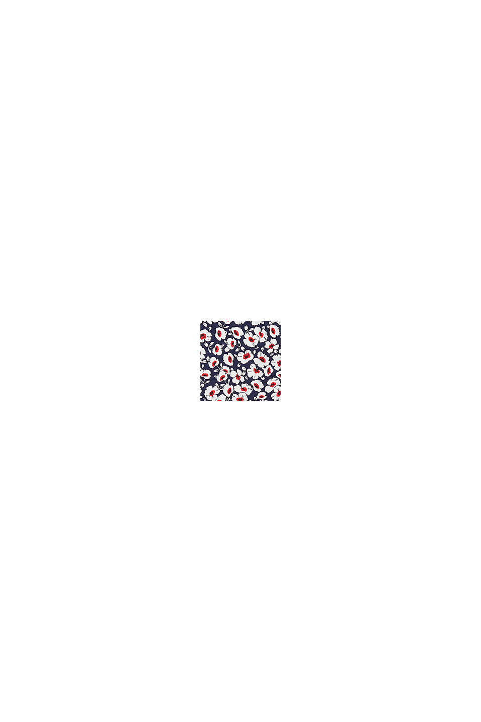 Midi-Kleid aus 100% Viskose, NAVY, swatch