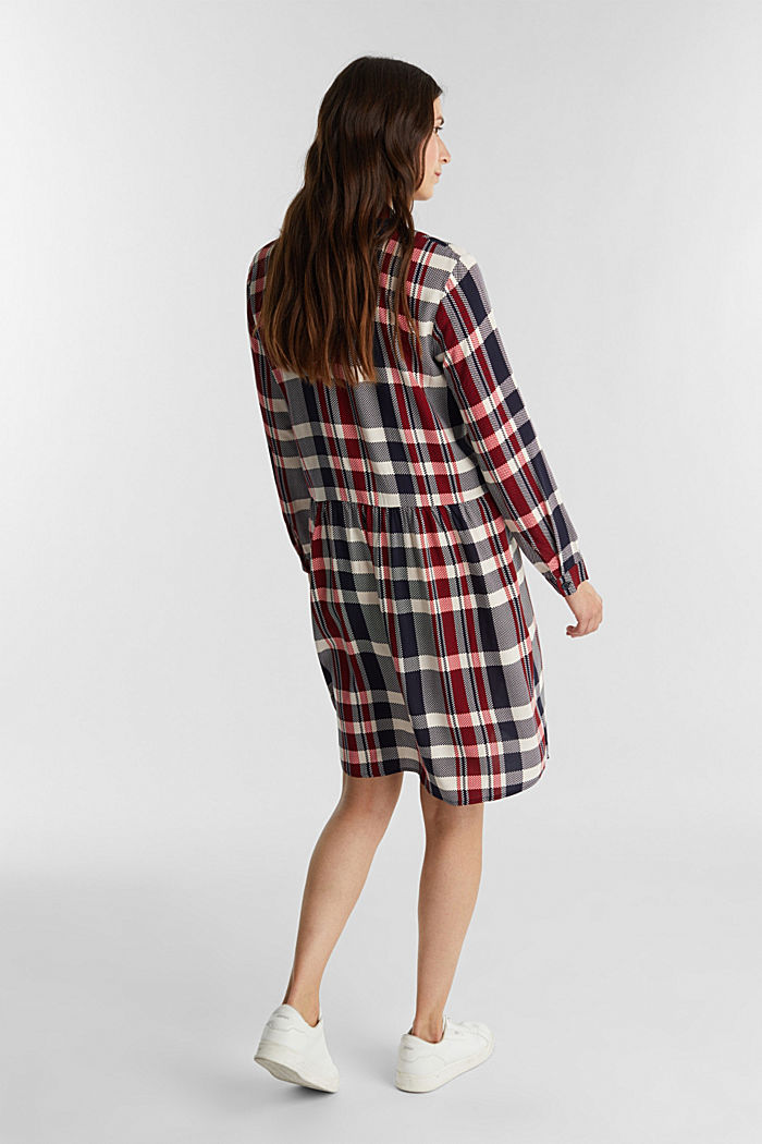 Shirt dress made of LENZING™ ECOVERO™, NAVY, detail image number 2