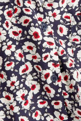 Shirt dress in 100% viscose, NAVY 4, detail