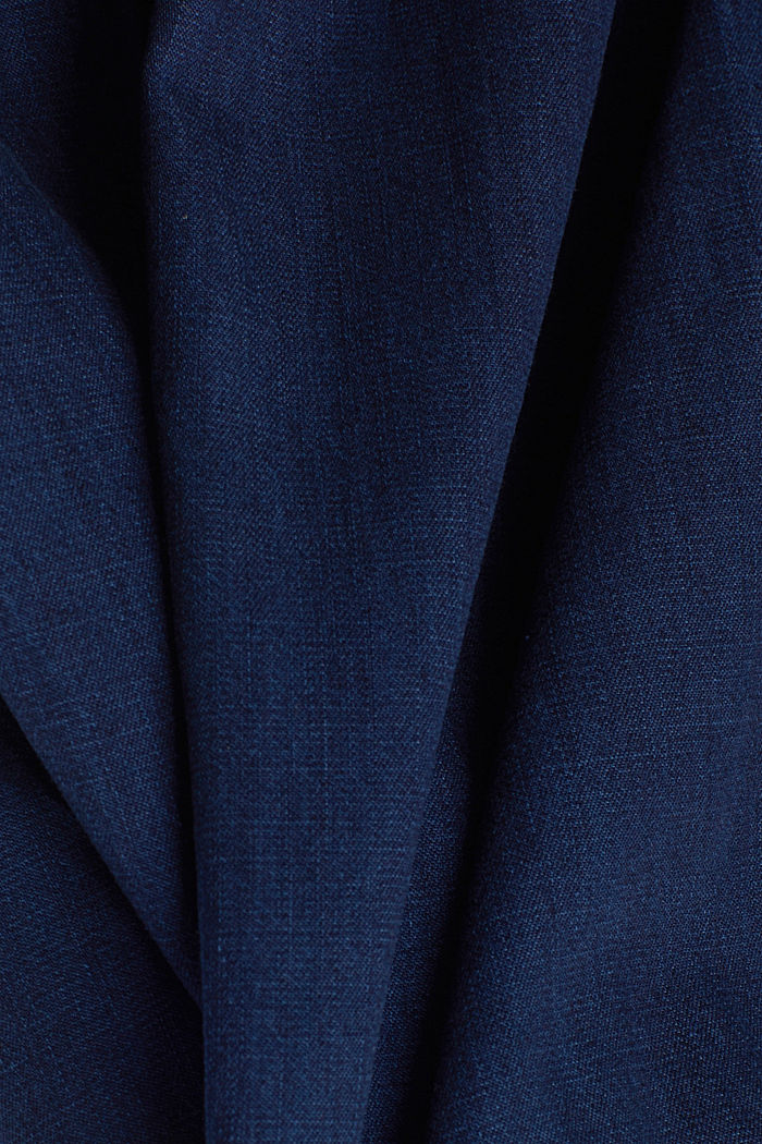 Jeanskleid aus 100% Baumwolle, BLUE DARK WASHED, detail image number 4