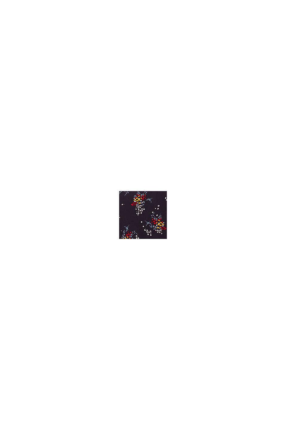 Mini-Kleid mit Blumen-Muster, NAVY, swatch