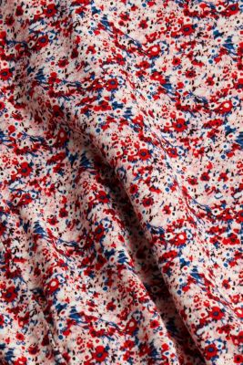 Mille-fleurs blouse made of LENZING™ ECOVERO™, OFF WHITE 4, detail