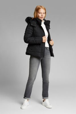 Quilted jacket with 3M™ Thinsulate™ padding, BLACK, detail