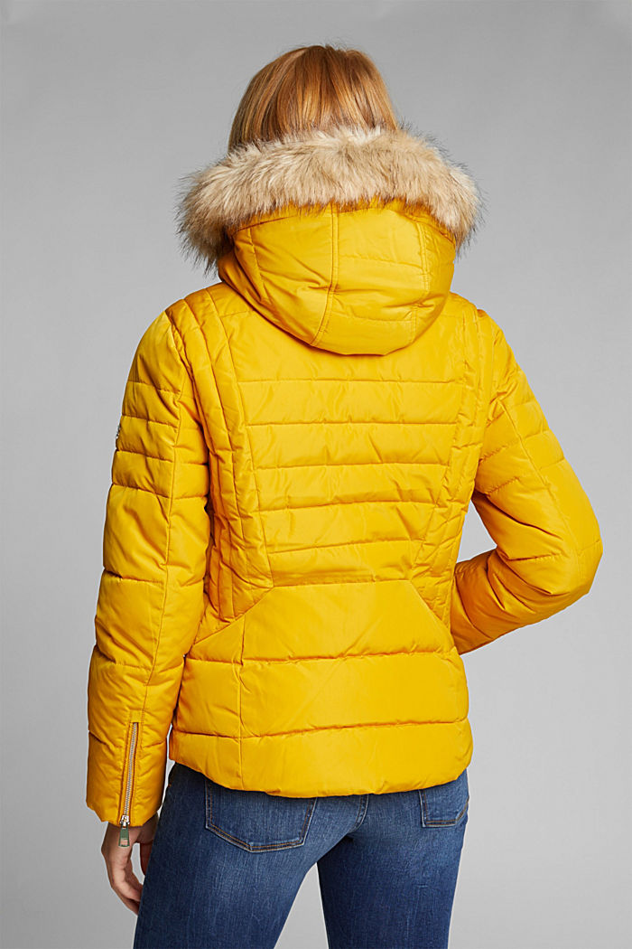 Quilted jacket with 3M™ Thinsulate™ padding, BRASS YELLOW, detail image number 3