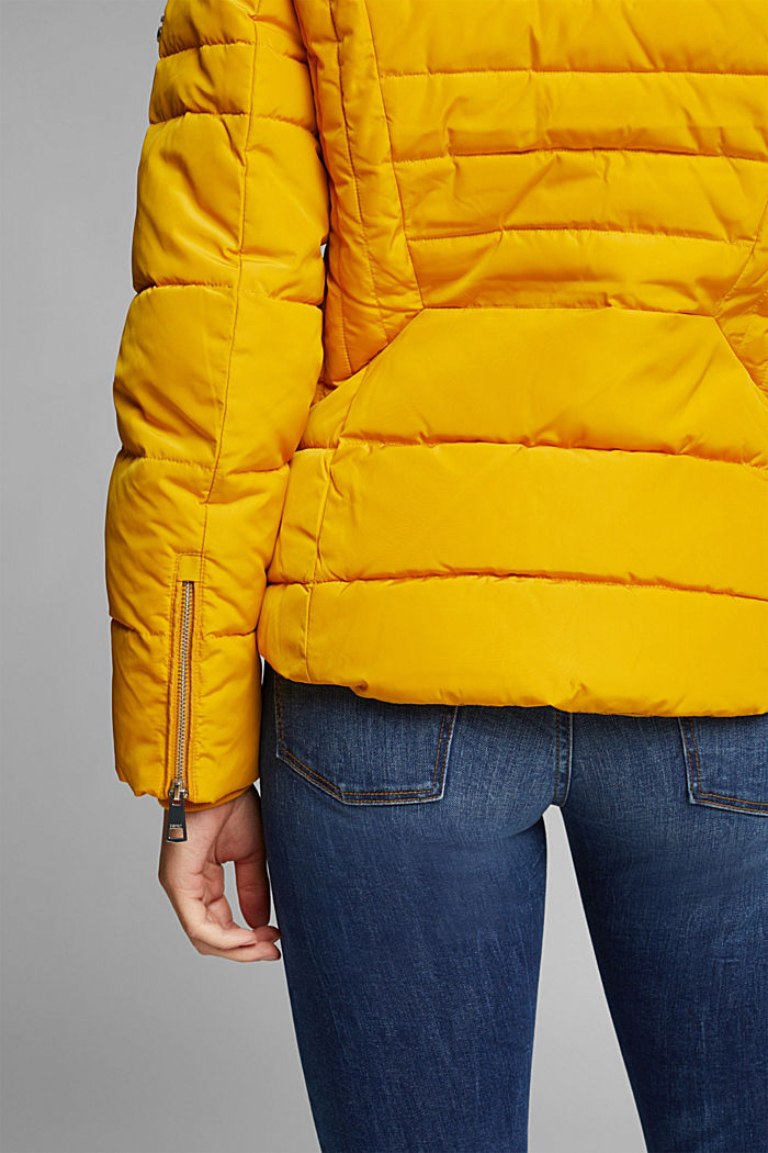 Quilted jacket with 3M™ Thinsulate™ padding, BRASS YELLOW, detail image number 2
