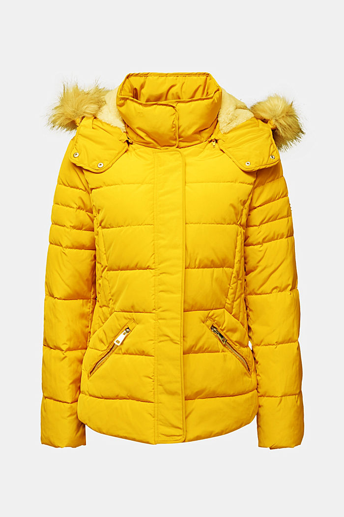 Quilted jacket with 3M™ Thinsulate™ padding, BRASS YELLOW, detail image number 6