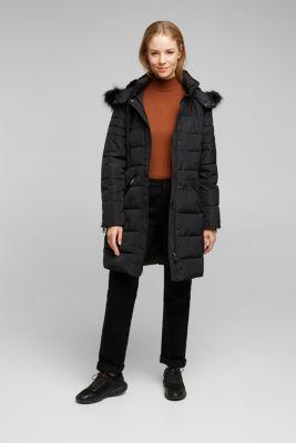 Coat, BLACK, detail