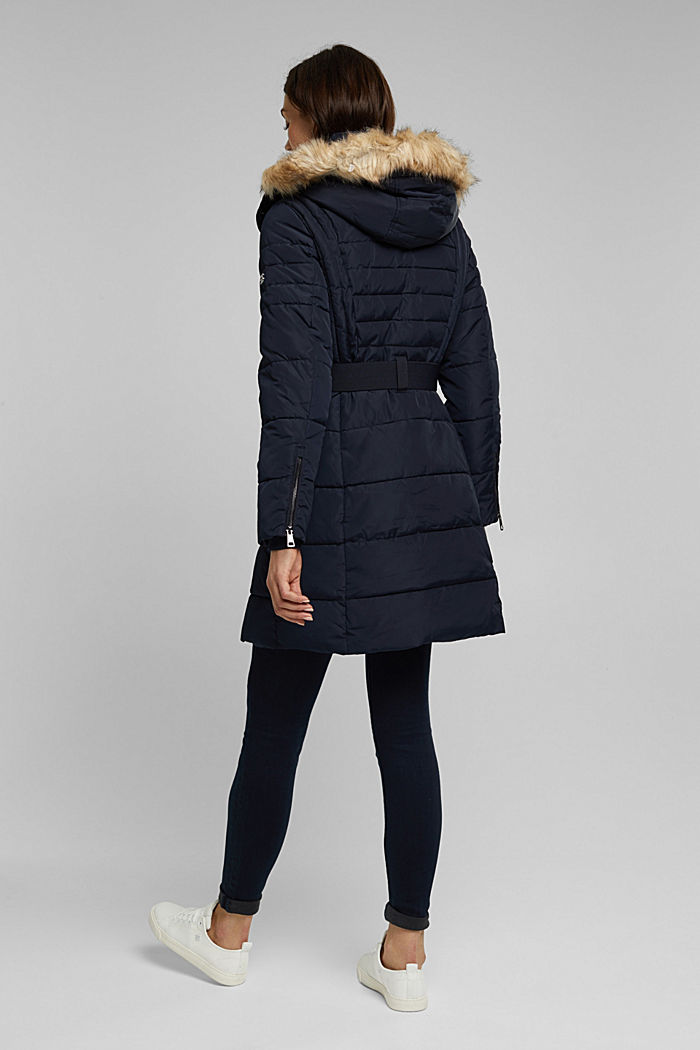 Recycled: Coat with 3M™ Thinsulate™ filling, NAVY, detail image number 3