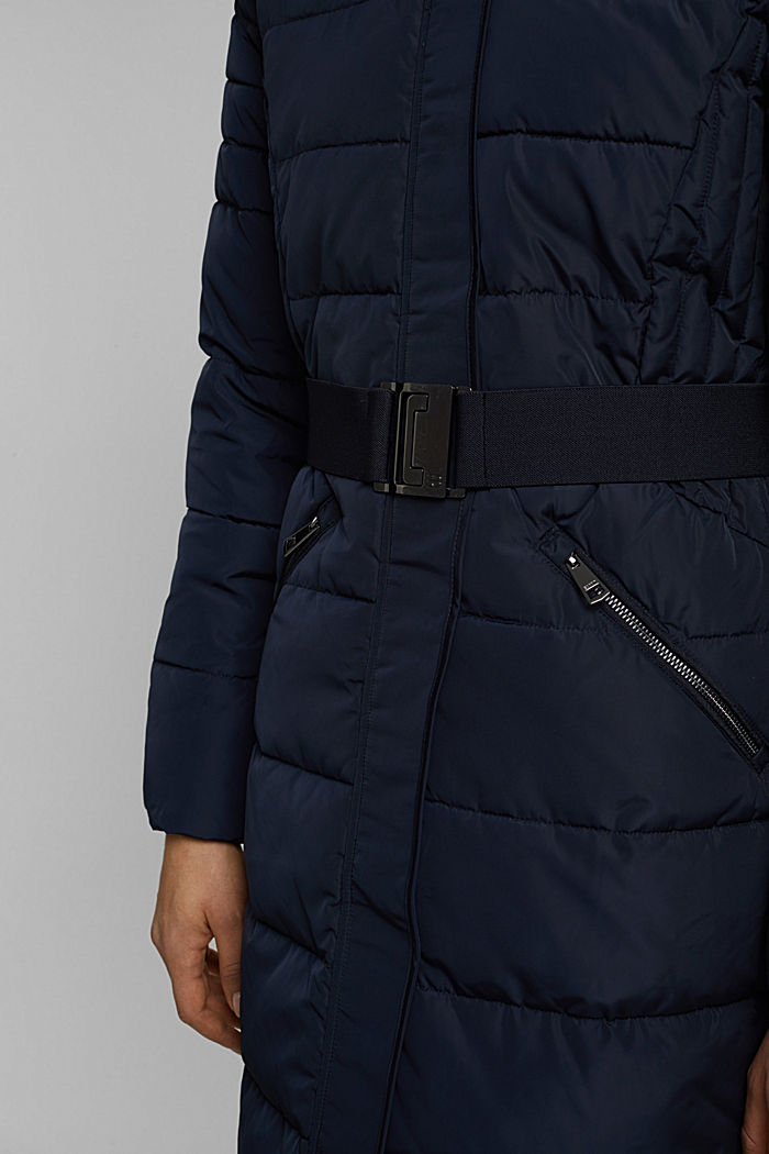 Recycled: Coat with 3M™ Thinsulate™ filling, NAVY, detail image number 2