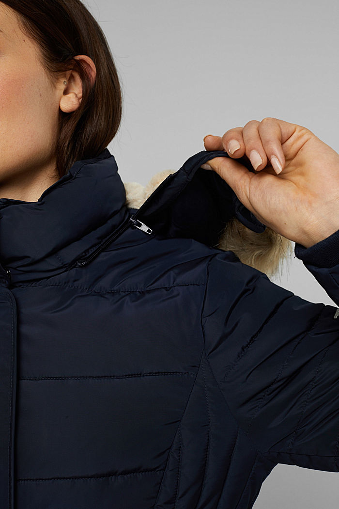 Recycled: Coat with 3M™ Thinsulate™ filling, NAVY, detail image number 5