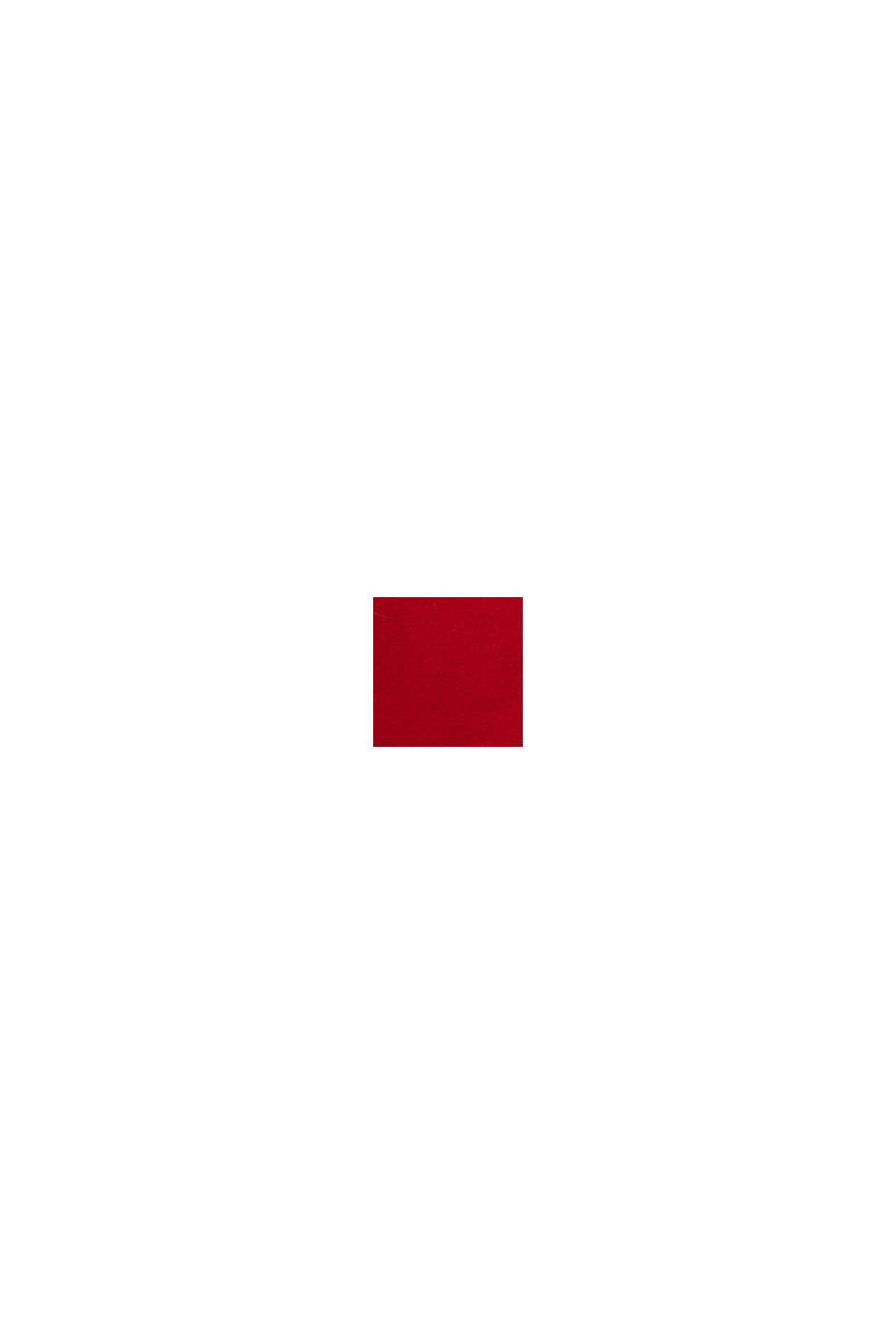Recycelt: Duffle Coat aus Woll-Mix, DARK RED, swatch