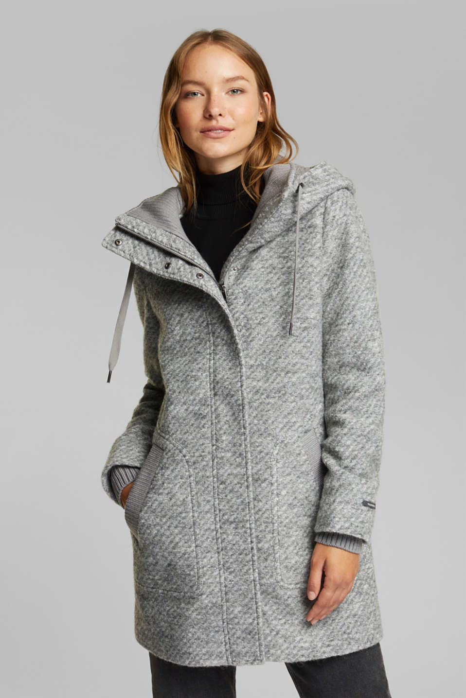Esprit - hooded coat