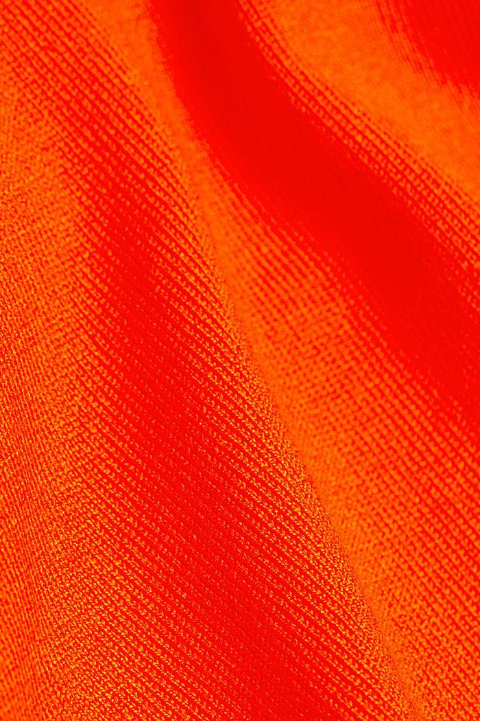 Polo neck jumper, RUST ORANGE, detail image number 4