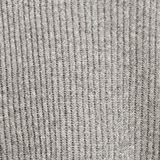 With cashmere: rib knit hoodie, GUNMETAL 5, swatch