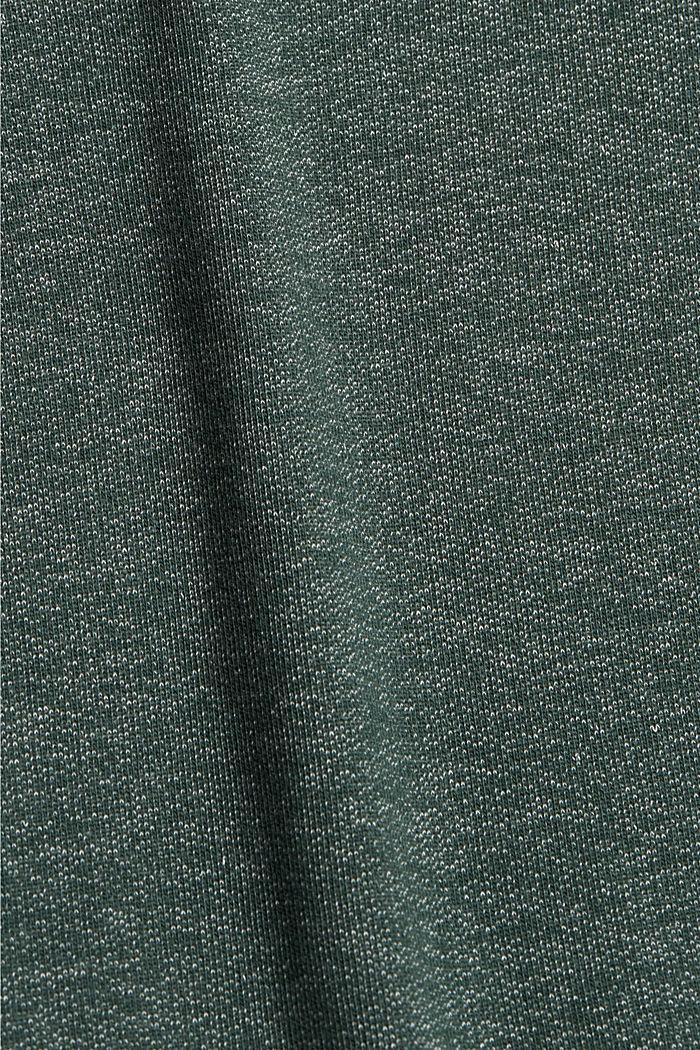 Sweatshirt im Layer-Look, DARK GREEN, detail image number 4