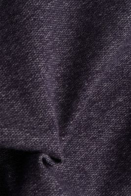 Sweatshirt in a layered look, NAVY, detail