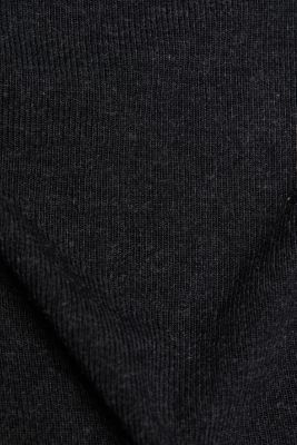 Soft long sleeve top with LENZING™ ECOVERO™, GUNMETAL 5, detail
