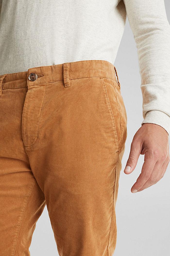 Cord-Hose mit Organic Cotton, CAMEL, detail image number 2