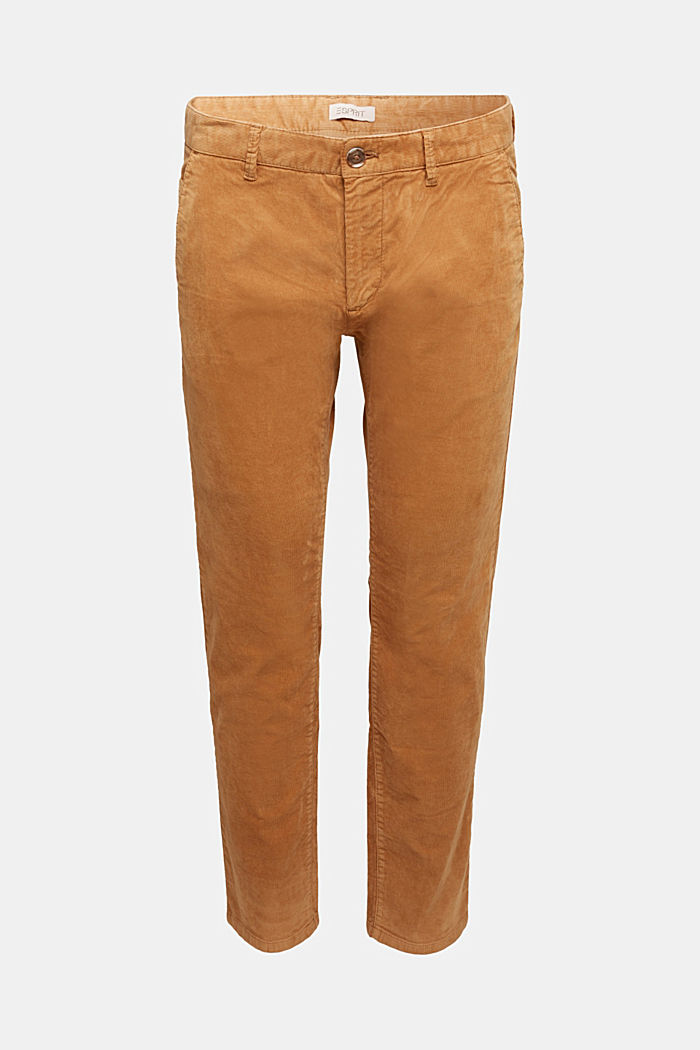 Corduroy trousers with organic cotton, CAMEL, detail image number 6