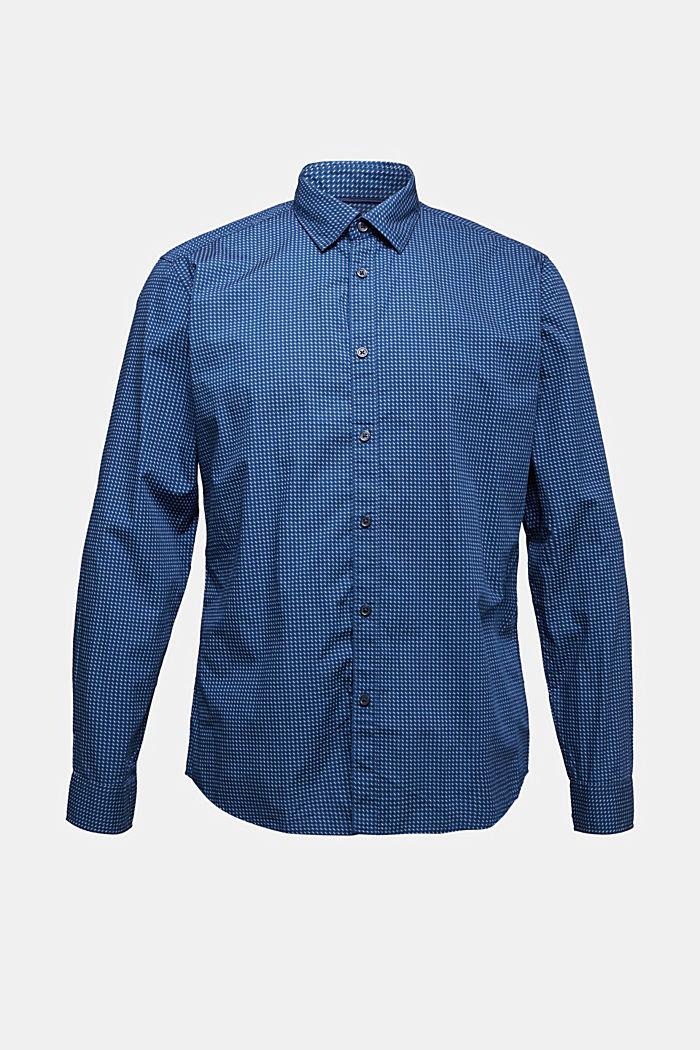 Hemd mit Mini-Print, 100% Bio-Baumwolle