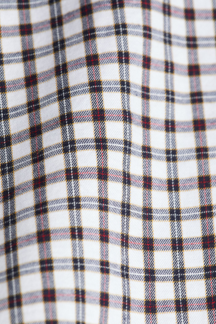 Checked shirt made of 100% organic cotton, WHITE, detail image number 4