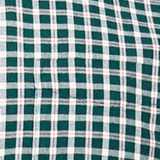 Checked shirt made of 100% organic cotton, BOTTLE GREEN 3, swatch