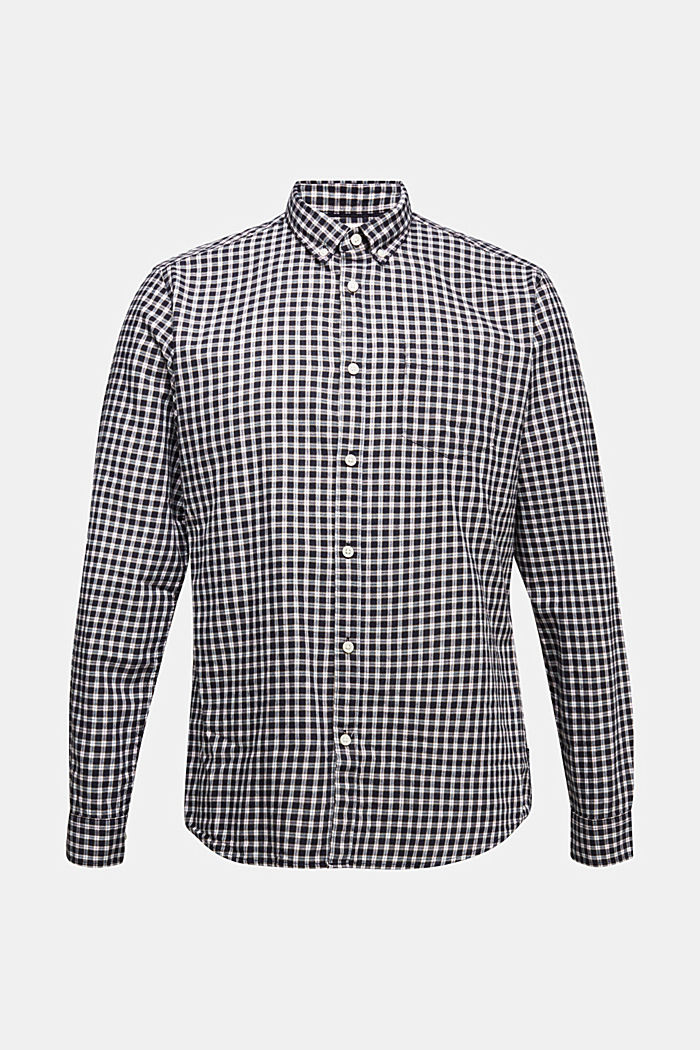 Checked shirt made of 100% organic cotton, NAVY, detail image number 5