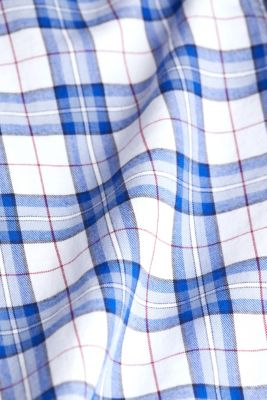 Checked shirt made of 100% organic cotton, WHITE 3, detail