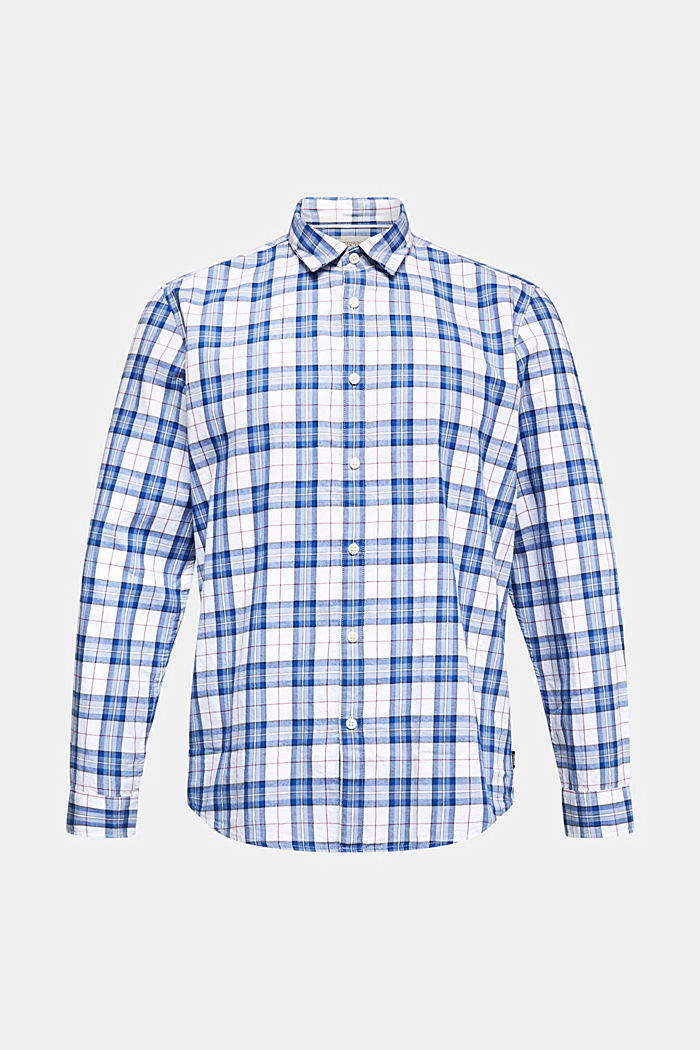 Checked shirt made of 100% organic cotton, WHITE, detail image number 6
