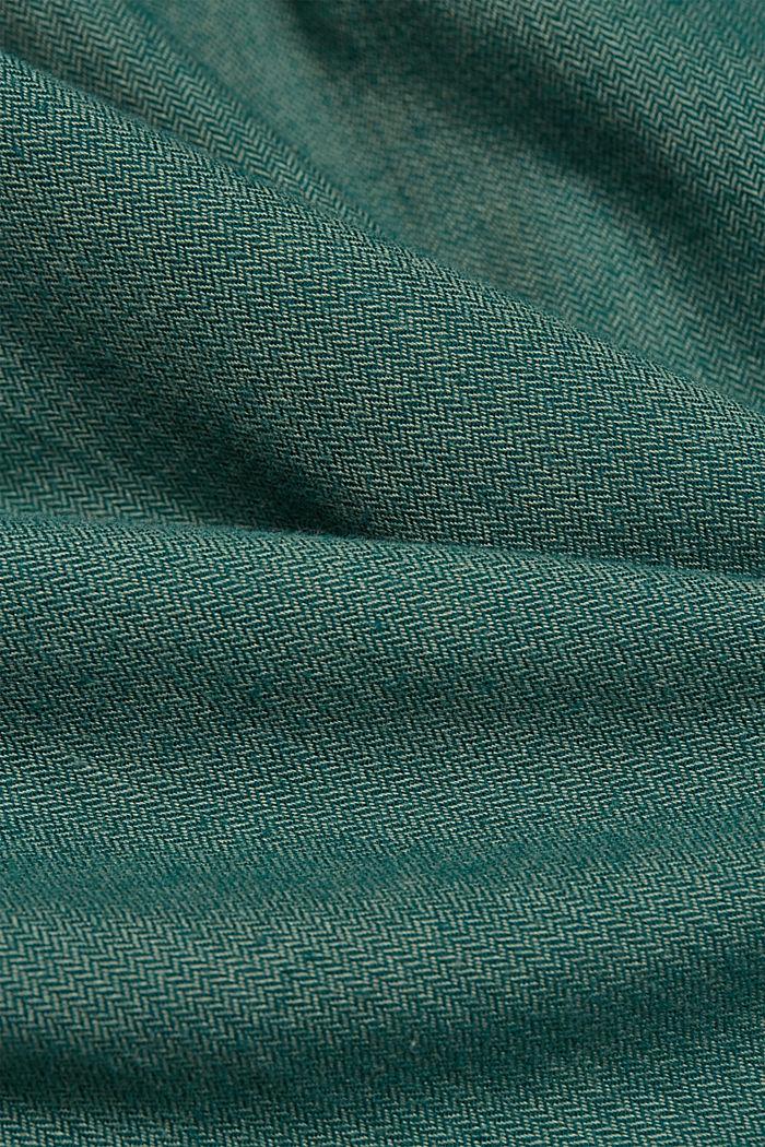 Shirt made of 100% organic cotton, BOTTLE GREEN, detail image number 3