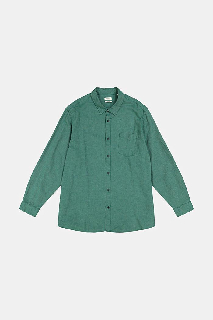 Shirt made of 100% organic cotton, BOTTLE GREEN, detail image number 5